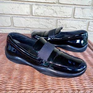 PRADA Patent Leather Loafer Slip On Driver 40.5